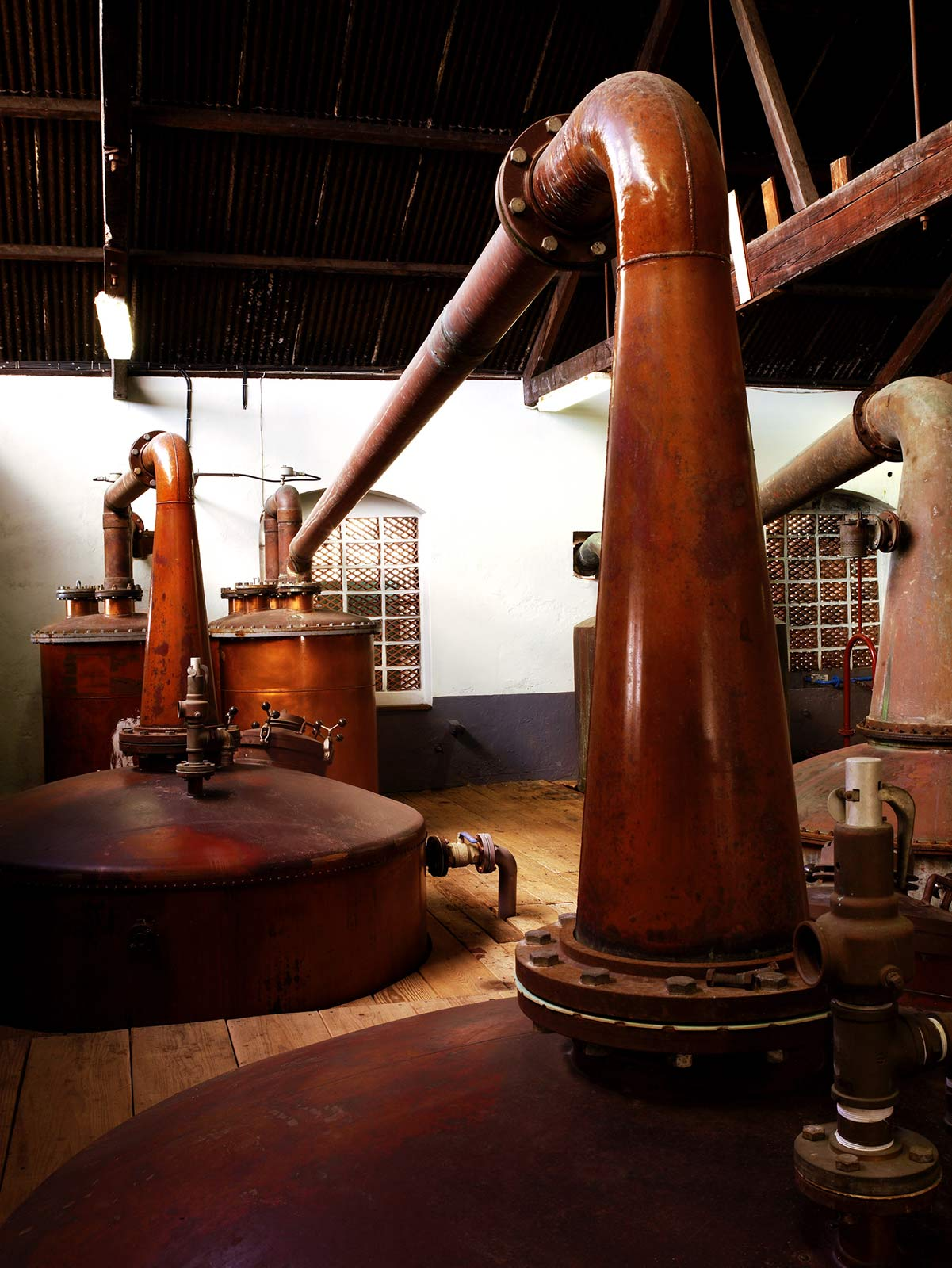 La distillation du rum Mount Gay