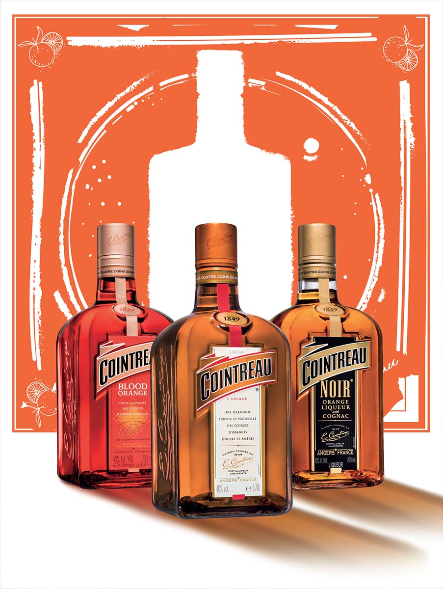 Cointreau, Cointreau Noir, Cointreau Blood Orange